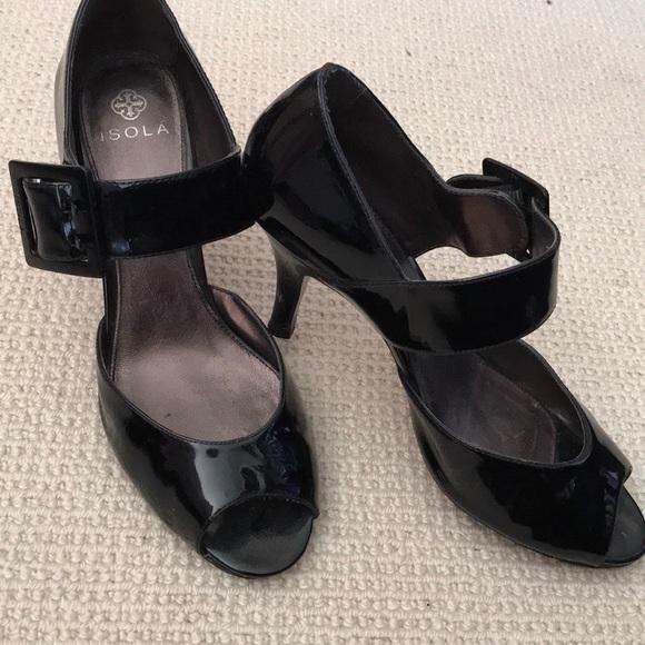 19b3a21e07ee08 isola Shoes - Isola black patent pumps